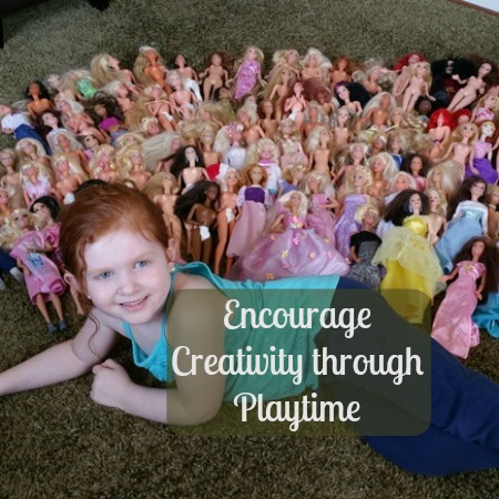 How to Encourage Creativity with Playtime Using Barbie and Other Toys