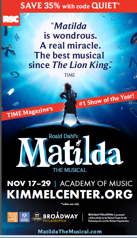 Matilda the Musical – Academy of Music