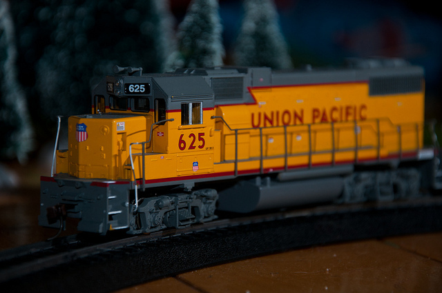 A Model Train Christmas Tradition
