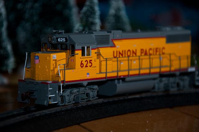 A Model Train Christmas Tradition