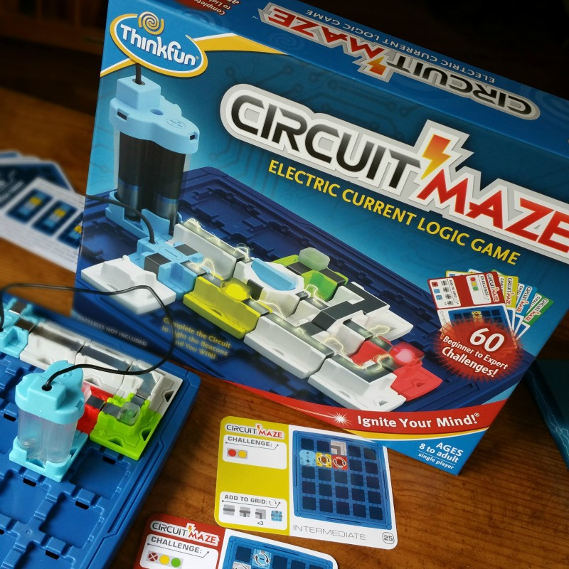 Light Up Family Game Night with Circuit Maze