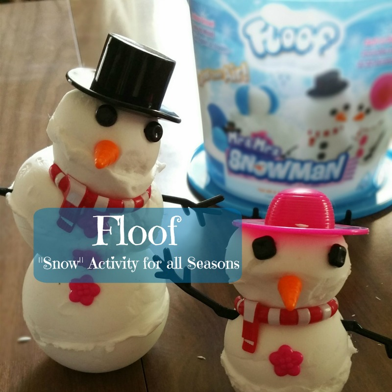 "Floof: Indoor ""Snow"" Activities for Any Season"