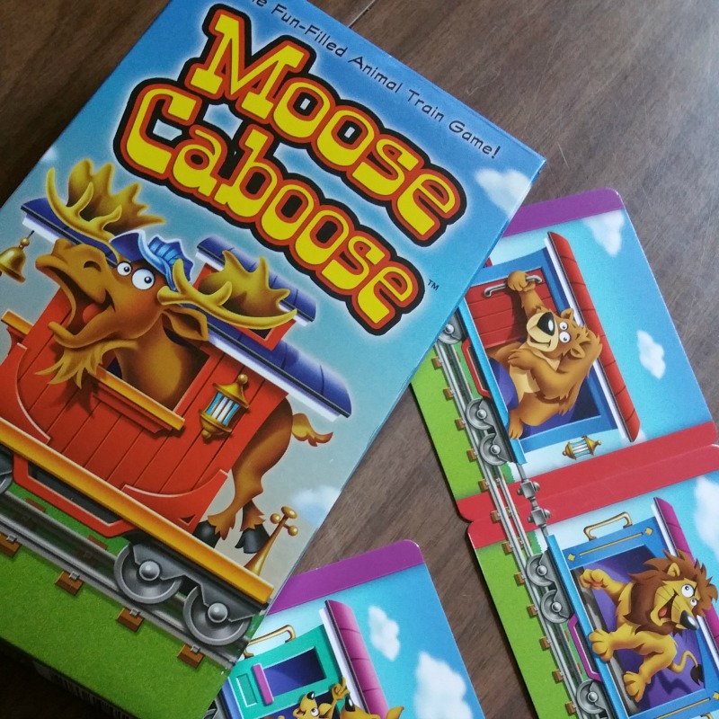 A Simple Game for Siblings: Moose Caboose