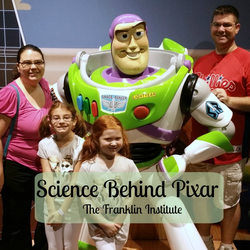 Playing with Pixar at The Franklin Institute