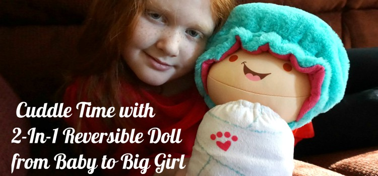 Reversible 2-In-1 Flip Zee Girls Doll Review