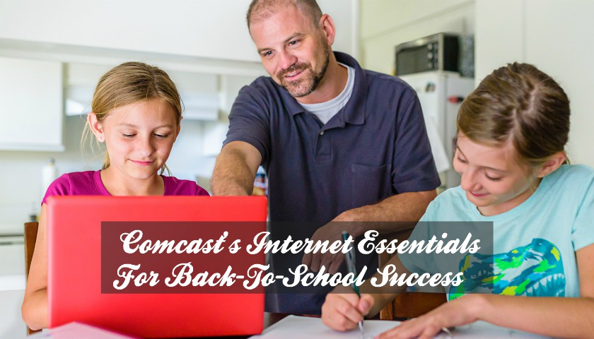 Comcast's Internet Essentials Is the Biggest Back-To-School Tool For Low-Income Families